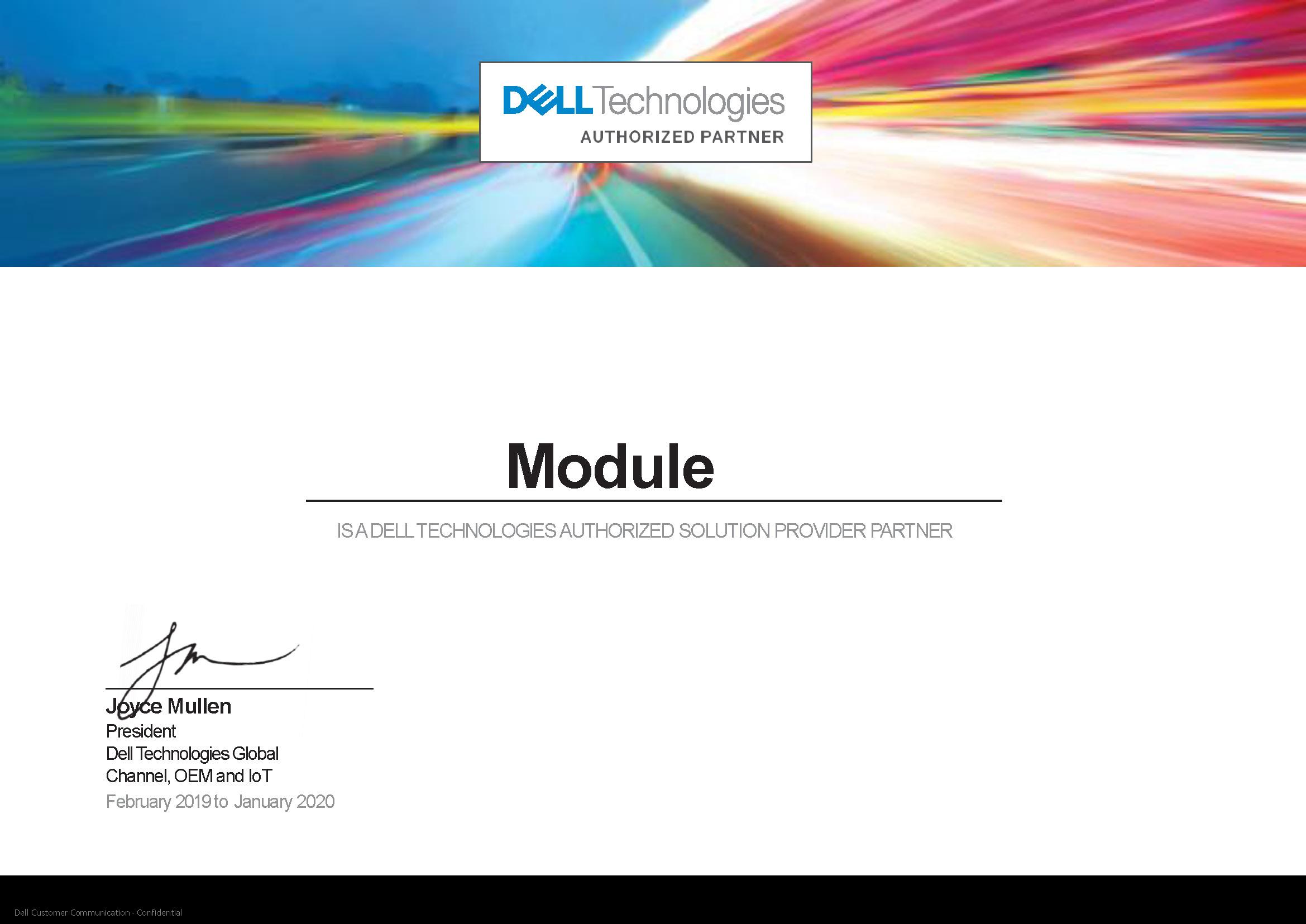 официальный партнер Dell