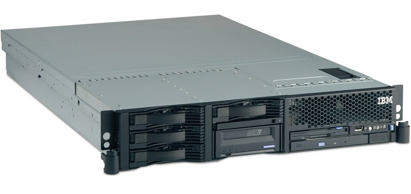 сервер 2U IBM xSeries 346
